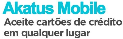 Logo Akatus Mobile - Receber Cartões de Crédito pelo Celular