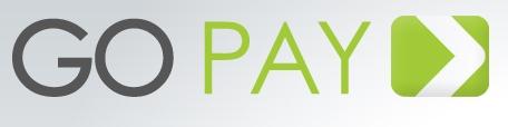 Logo Go Pay - GoPayment Receber Cartões de Crédito pelo Celular