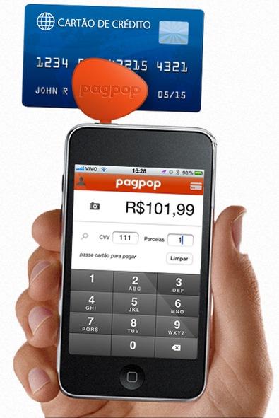 Logo PAGPOP Cartão de Crédito no Celular Sem Maquininha