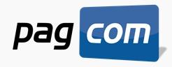 Logo PagCom - Receber Cartões de Crédito pelo Celular
