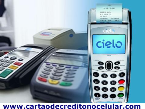 5d74fe761 Maquina de Cartão de Crédito Pelo CPF Pessoa Física | Cartão de ...