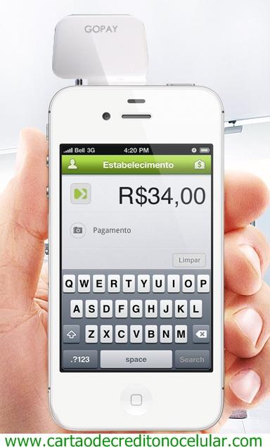 Go Pay - Cartão de Crédito no Celular