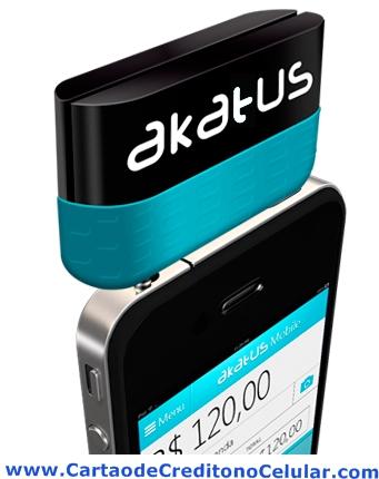 Leitor de Cartões Akatus Mobile