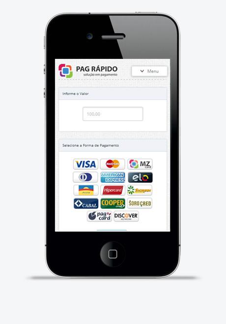Pag Rápido  - Cartão de Crédito Pelo Celular Tablet e Android