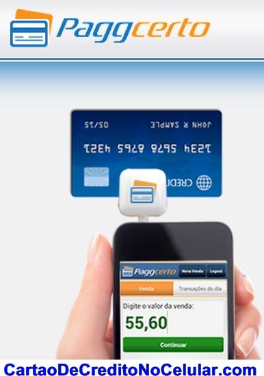 PaggCerto Cartão de Crédito no Celular