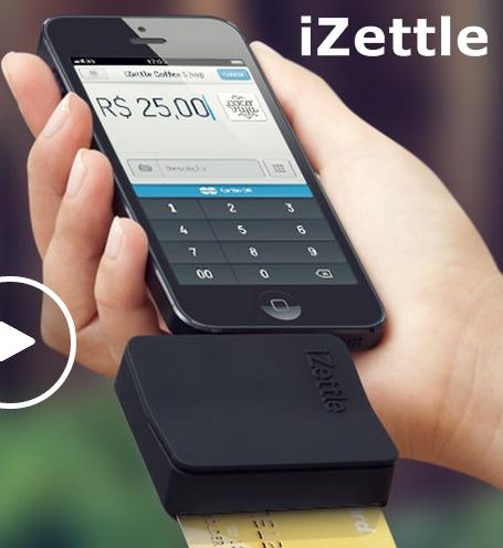 Izettle Receba Cartões de Credito pelo Celular