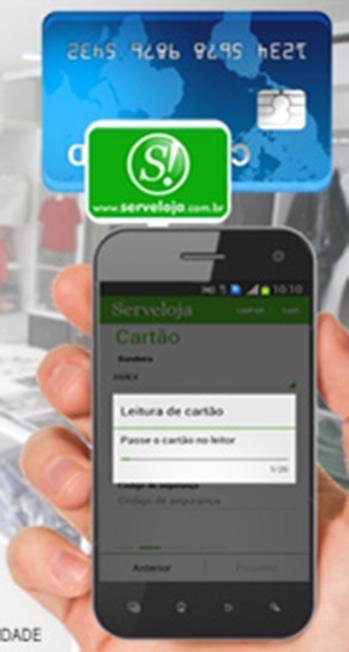 ServeLoja Cartão pelo Celular