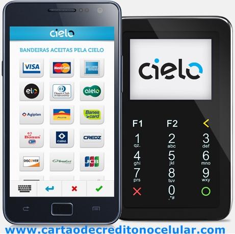 Cielo Digital - Leitor de Cartões de Crédito e Débito para Celular da Cielo mobile .