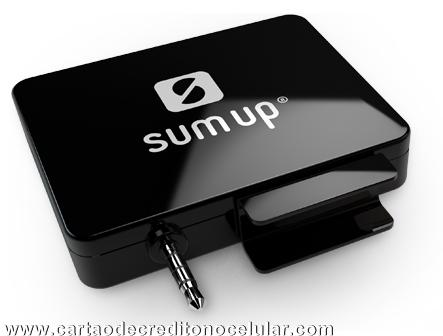 SumUp Leitor de Cartões de Crédito pra Celular