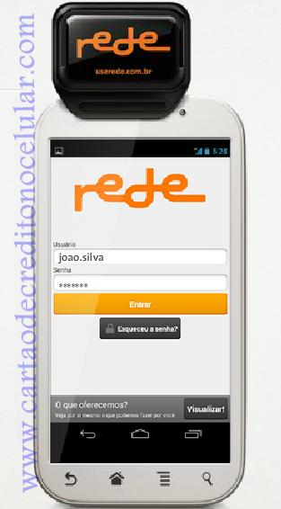 Mobile Rede-  Cartões de Crédito pelo Celular com Aplicativo da Ex Redecard