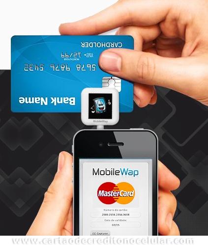 Mobile Wap para Receber Cartões de Crédito pelo Celular