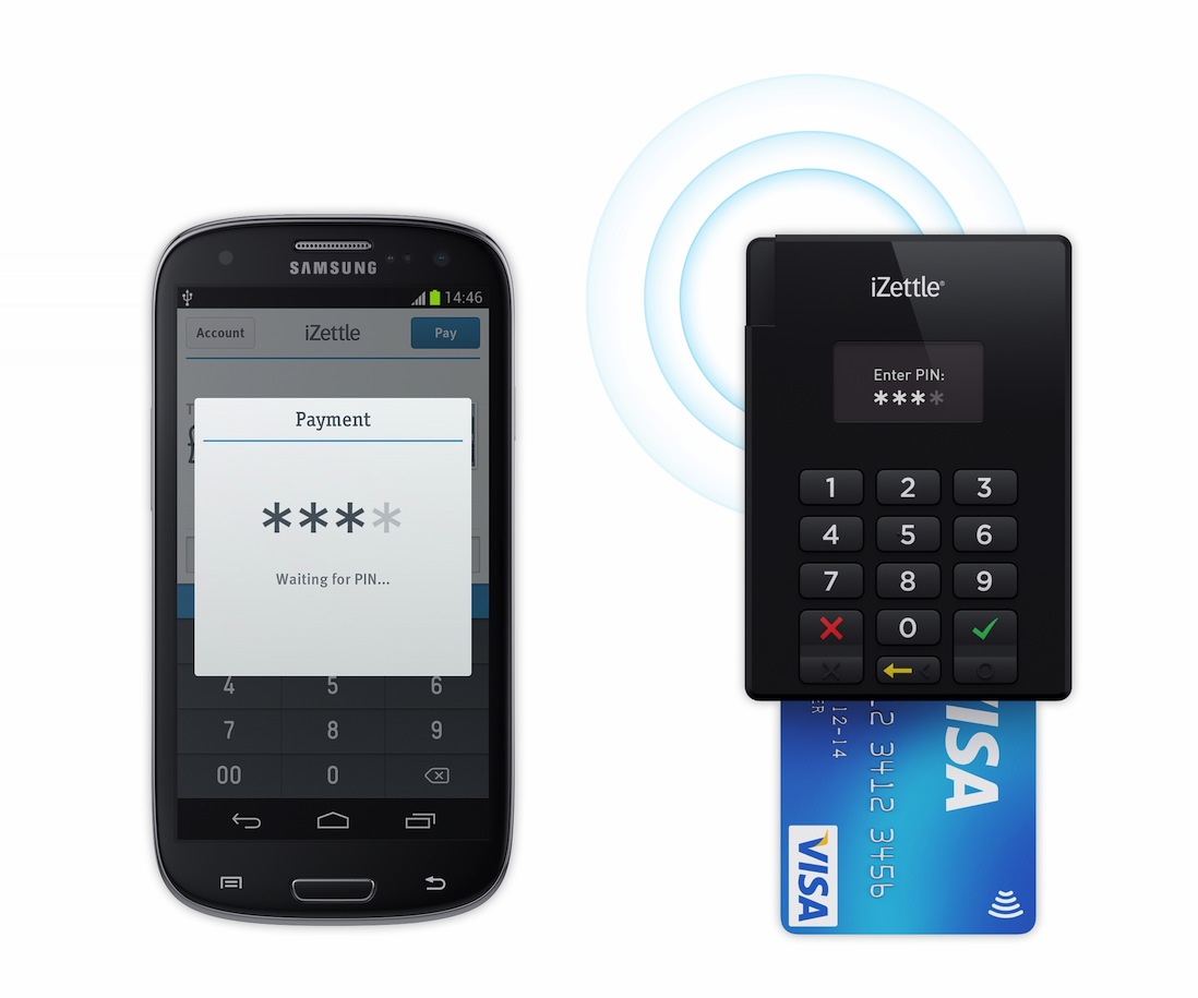 iZettle Leitor Chip&Senha - Chip&Pin Reader