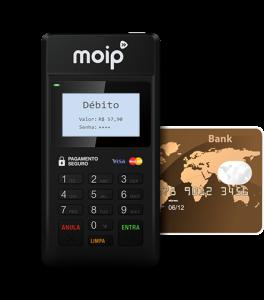 Moip Mobile - maquininha de cartões da Moip