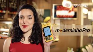 Moderninha Pro da Pagseguro Garota Propaganda 2